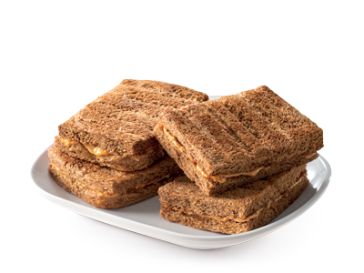 Peanut Butter Toast ( Double )<br /><span lang=&quot;zh&quot;>花生酱烤面包 ( 双 )</span>