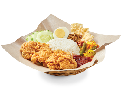 "OLDTOWN Nasi Lemak Fried Chicken / Chicken Chop<br /><span lang=""zh""></span>"